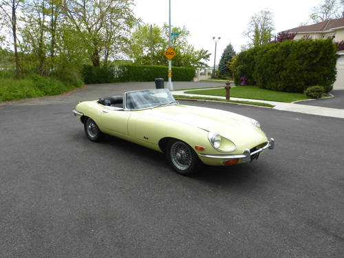 1970 Jaguar XKE SII Roadster Nice Driver - SOLD (picture 1 of 6)