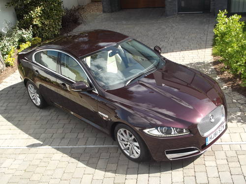 2012 MY JAGUAR XF 2.2 LUXURY D AUTO TIP DIESEL SALOON SOLD (picture 1 of 6)