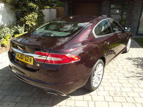 2012 MY JAGUAR XF 2.2 LUXURY D AUTO TIP DIESEL SALOON SOLD (picture 3 of 6)