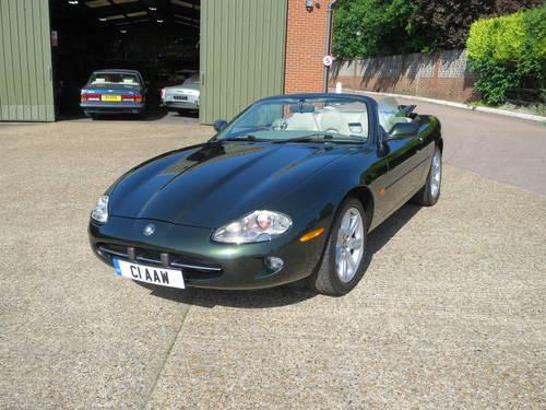 1997 Jaguar XK8 Convertible SOLD (picture 1 of 6)