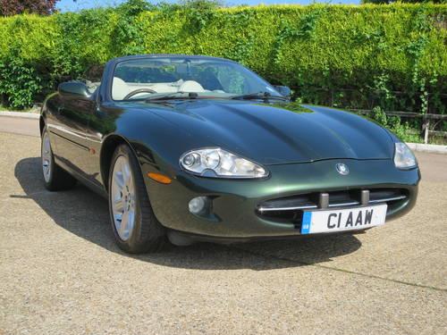 1997 Jaguar XK8 Convertible SOLD (picture 3 of 6)