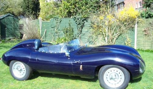1981 Jaguar D Type Recreation by Realm Engineering  SOLD by Auction (picture 1 of 6)