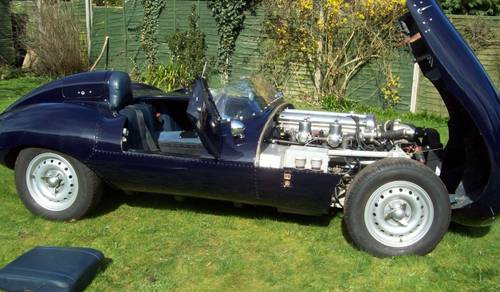 1981 Jaguar D Type Recreation by Realm Engineering  SOLD by Auction (picture 6 of 6)