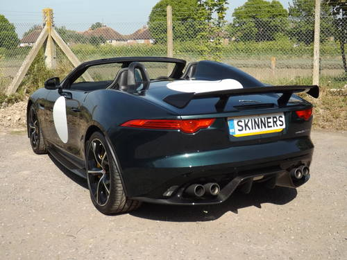 2016 Jaguar F Type Project 7 VAT QUALIFYING For Sale (picture 5 of 6)