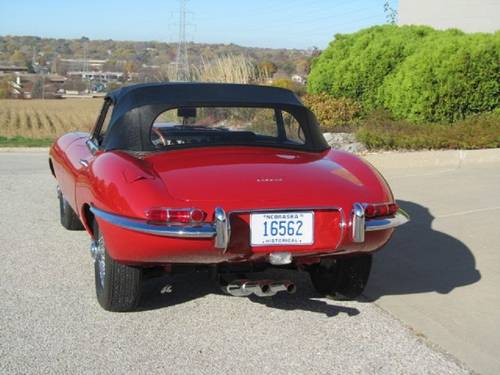 1962 Jaguar XKE Roadster For Sale (picture 4 of 6)