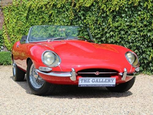 1962 Jaguar E-Type flat floor 3.8 series 1 Convertible For Sale (picture 5 of 6)