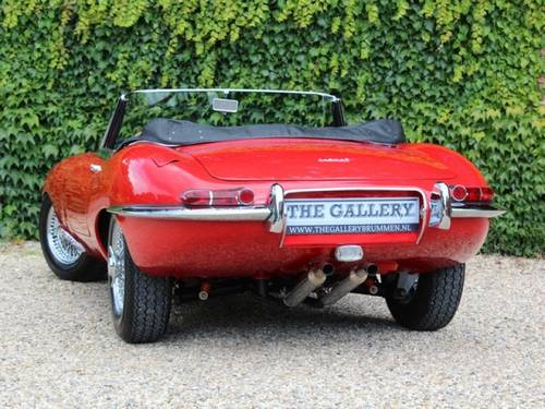 1962 Jaguar E-Type flat floor 3.8 series 1 Convertible For Sale (picture 6 of 6)