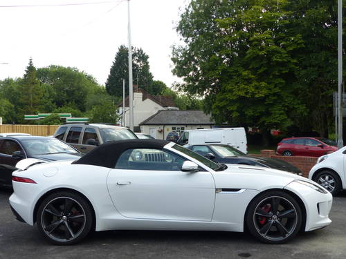 2014 JAGUAR F-TYPE 3.0 V6 SUPERCHARGED AUTO CONVERTIBLE + LHD  SOLD (picture 2 of 6)