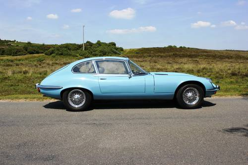 Jaguar E Type V12 Coupe Automatic 1971 SOLD (picture 3 of 6)