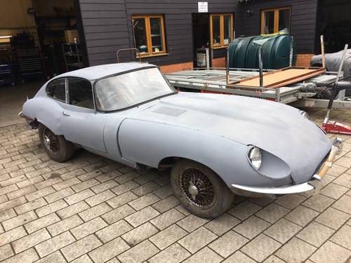 0000 E type series II fixed head coupe original rhd For Sale (picture 1 of 4)