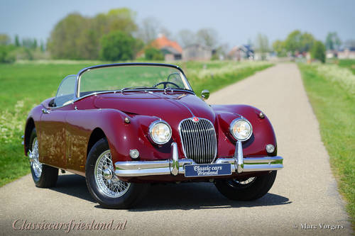 JAGUAR XK 150 3.4 LITRE OTS ROADSTER, 1958 - TOP RESTORED For Sale (picture 1 of 6)