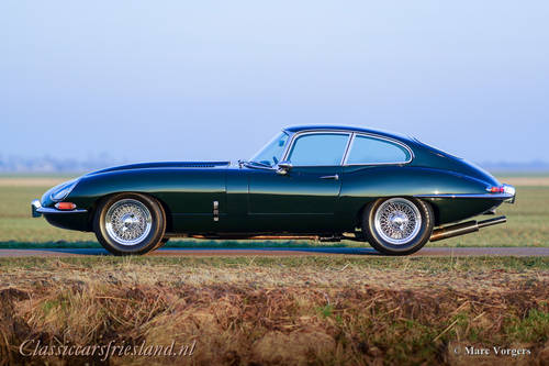 JAGUAR E-TYPE SERIES 1 3.8 FHC COUPE, 1963 - TOP CONDITION For Sale (picture 2 of 6)