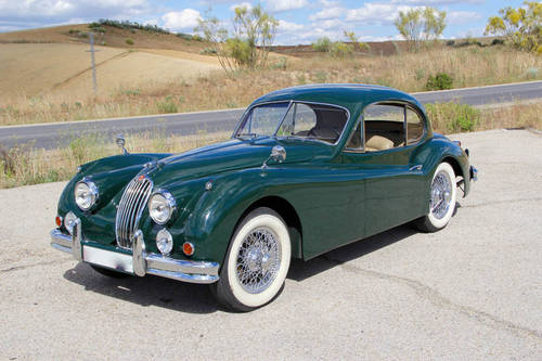 1957 Jaguar XK 140  FHC For Sale (picture 1 of 6)