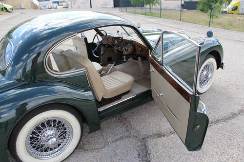 1957 Jaguar XK 140  FHC For Sale (picture 6 of 6)