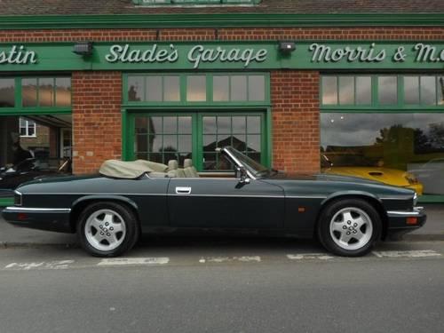 1993 Jaguar XJS 6.0 Convertible  SOLD (picture 1 of 4)