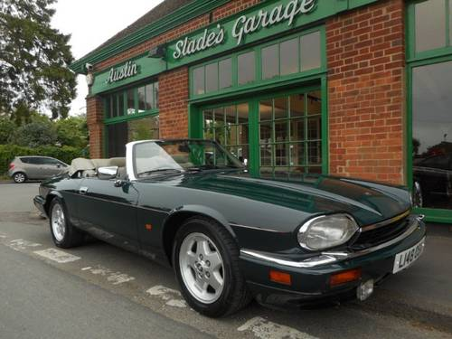 1993 Jaguar XJS 6.0 Convertible  SOLD (picture 2 of 4)