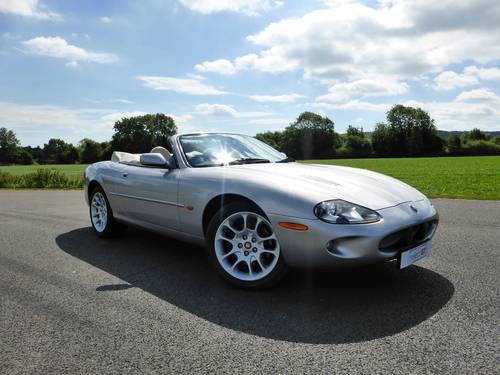 2000 Jaguar XKR V8 Supercharged Convertible For Sale SOLD (picture 1 of 6)