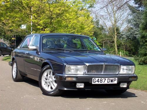 1989 Jaguar Sovereign XJ40 4.0 Auto For Sale (picture 1 of 6)