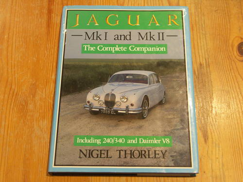 Jaguar Mk1 and Mk11 By Nigel Thorley For Sale (picture 1 of 1)