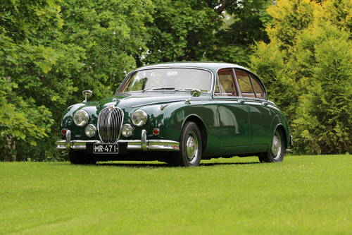 1965 Nice Jaguar MK II with really extensive history For Sale (picture 1 of 6)