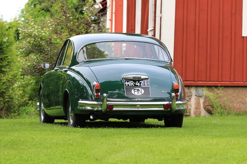 1965 Nice Jaguar MK II with really extensive history For Sale (picture 3 of 6)