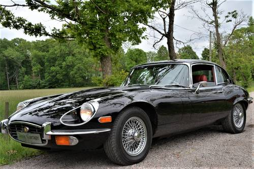 1972 Jaguar E-type V12 SIII Coupé restored to original condition. SOLD (picture 2 of 6)
