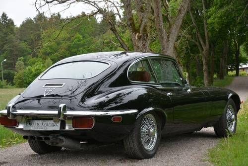 1972 Jaguar E-type V12 SIII Coupé restored to original condition. For Sale (picture 3 of 6)