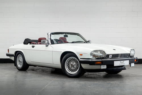 1989 Jaguar XJ-S V12 Convertible Auto- Only 16000 Miles SOLD (picture 1 of 6)