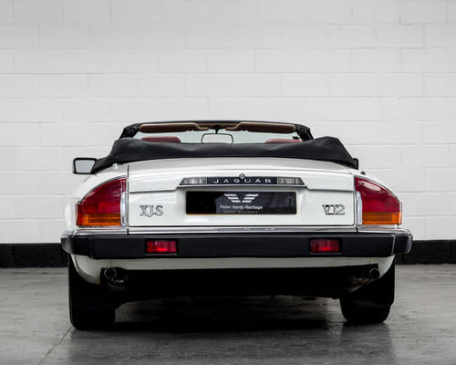 1989 Jaguar XJ-S V12 Convertible Auto- Only 16000 Miles SOLD (picture 4 of 6)