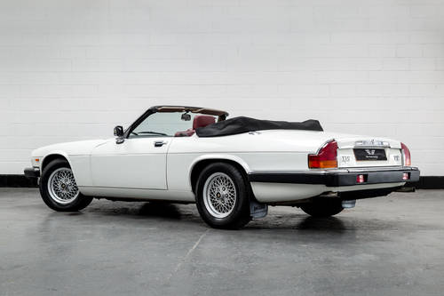 1989 Jaguar XJ-S V12 Convertible Auto- Only 16000 Miles SOLD (picture 5 of 6)