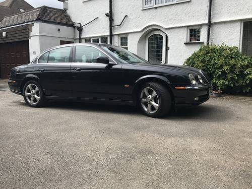 2002 Jaguar S-type 2.5 v6  1 owner 27 stamps spares-repair SOLD (picture 1 of 6)