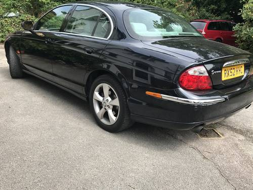 2002 Jaguar S-type 2.5 v6  1 owner 27 stamps spares-repair SOLD (picture 3 of 6)