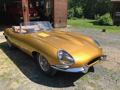 1963 Jaguar Series I 3.8 XKE Roadster # 21917 For Sale (picture 1 of 6)