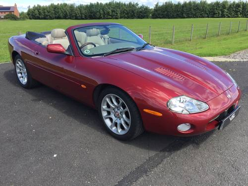 2001 Stunning Jaguar XKR 4.0 V8 Supercharged- Low Mileage  SOLD (picture 1 of 6)