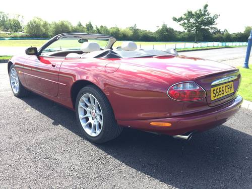2001 Stunning Jaguar XKR 4.0 V8 Supercharged- Low Mileage  SOLD (picture 2 of 6)
