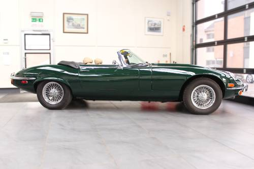 1972 JAGUAR V12 'E' TYPE ROADSTER AUTO. SOLD (picture 6 of 6)