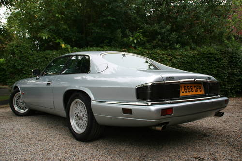1993 xjs xj-s 6.0 v12 coupe - excellent history, rare SOLD (picture 2 of 6)