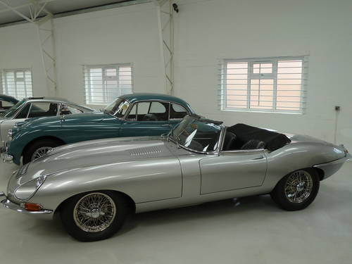 1968 Jaguar E Type 4.2 Roadster - Huge Fast Road Specification SOLD (picture 2 of 6)