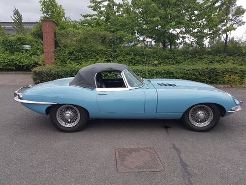 1968 E Type Jaguar S1.5 Roadster For Sale (picture 1 of 6)