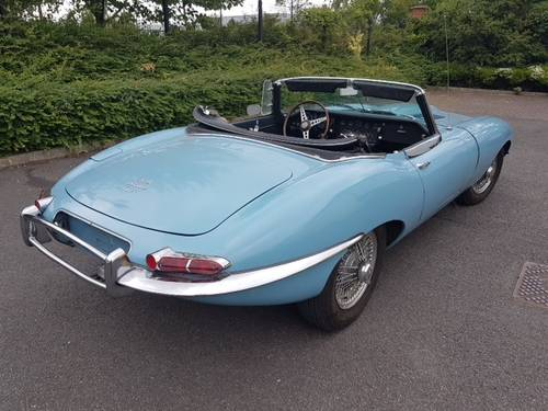 1968 E Type Jaguar S1.5 Roadster For Sale (picture 3 of 6)