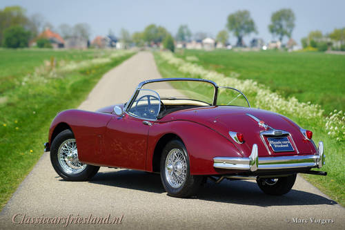 JAGUAR XK 150 3.4 LITRE OTS ROADSTER, 1958 - TOP RESTORED For Sale (picture 6 of 6)