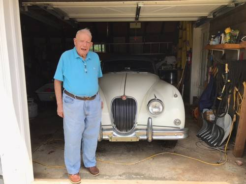 1958 Jaguar XK150 DHC For Sale (picture 1 of 6)