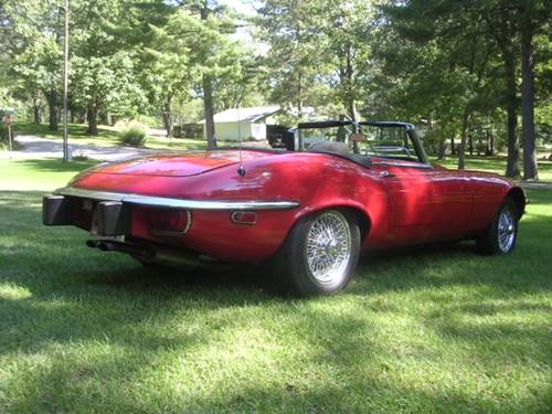 E TYPE S3 V12 Automatic 22K miles For Sale (picture 3 of 6)