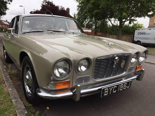 Jaguar 4.2 XJ6 Series 1 Automatic 1970 SWB 66k For Sale ...