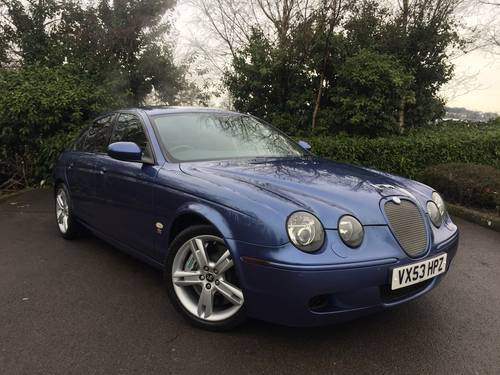 2003 (53) Jaguar S-Type R 4.2 V8 SUPERCHARGED TOTA For Sale (picture 1 of 6)