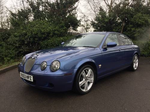 2003 (53) Jaguar S-Type R 4.2 V8 SUPERCHARGED TOTA For Sale (picture 2 of 6)