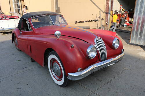 1956 Jaguar XK140 DHC For Sale (picture 1 of 5)