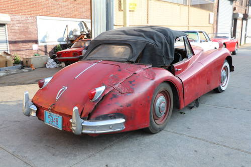 1956 Jaguar XK140 DHC For Sale (picture 4 of 5)