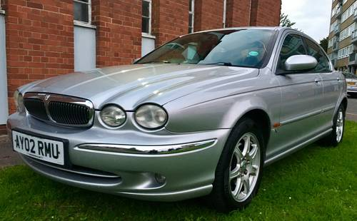 2002 Jaguar X Type 2.0 V6 SE Auto FSH excellent condition  For Sale (picture 1 of 6)