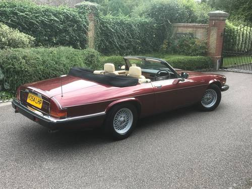 1991 XJS CONVERTIBLE V12 AUTO SOLD (picture 3 of 6)